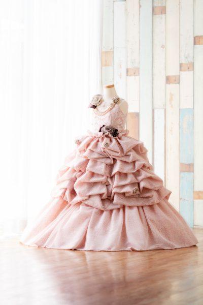 七五三7才女の子用ドレス
