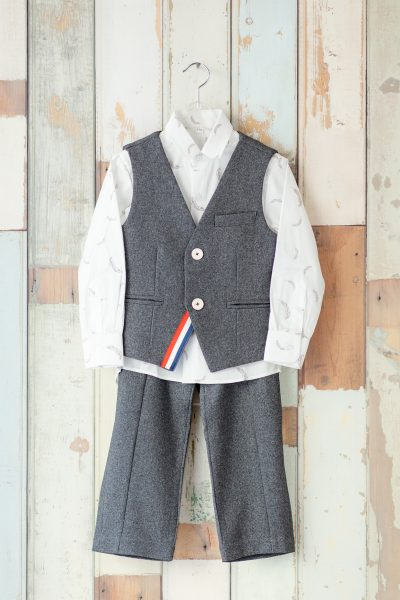 七五三5才男の子用スーツ